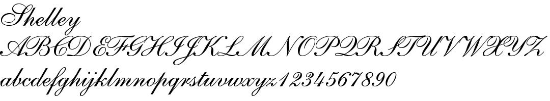 12 best fonts for design - Shelley